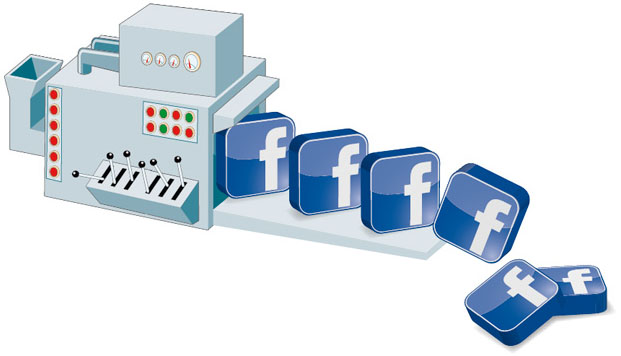 Facebook-Maschine
